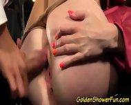 Glam Pissing Slut Creamed - scene 9