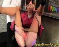 Glam Pissing Slut Creamed - scene 7