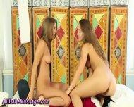 Lesbian Cuties Lick Pussy - scene 2
