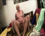 60yo Blonde Chubby Gets Smashed By A Horny Young Perv - scene 12