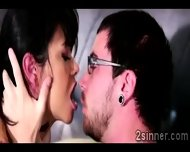Tattooed Hottie Has An Adventure With Her Mothers New Lover - scene 1
