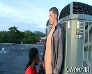 Hot Interracial Hunk Sex - scene 4