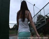 Pee Behind The Bleachers - scene 2