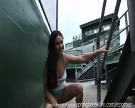 Pee Behind The Bleachers - scene 5
