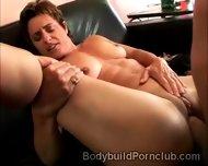 Stunning Ass Bodybuilding Model Mounts A Heavy Meatbone - scene 12