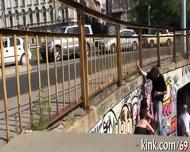 Raucous Thrashing For A Wild Slut - scene 9