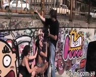 Raucous Thrashing For A Wild Slut - scene 10
