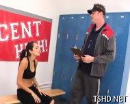 Vicious Schoolgirl Fuck - scene 2