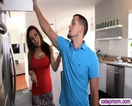 Stepmom Convinced Stepdaughter For 3some With Her Boyfriend - scene 2