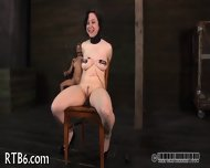 Painful Clamping For Beauty's Tits - scene 8