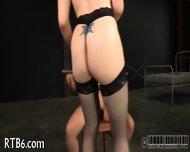 Slave Gets Ardous Caning - scene 1