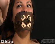 Slave Gets Ardous Caning - scene 4