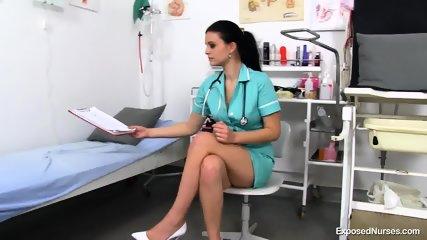 Nurse With Toys In Vagina - scene 1