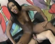 Large Assed Black Teen Rides On Dick - scene 8