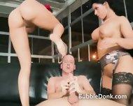 Amazing Pair Of Pornstar Sluts Share Man - scene 11