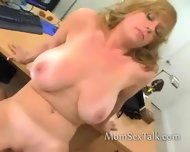 Mature Woman Interview Leads To Sex - scene 9
