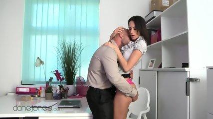 Emeline Is A Horny Secretary - scene 1