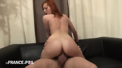 Two Cocks In Redhead Bitch - scene 8