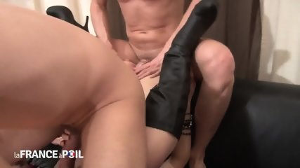 Two Cocks In Redhead Bitch - scene 12