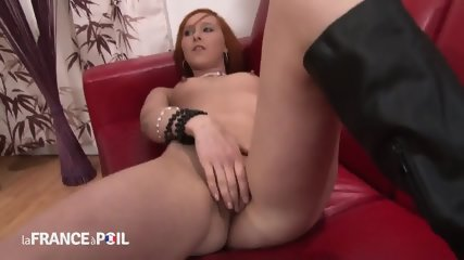 Two Cocks In Redhead Bitch - scene 3