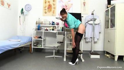 Nurse Shows Her Deep Pussy - scene 3