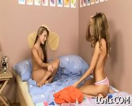 Lesbian Fun From Teens - scene 8