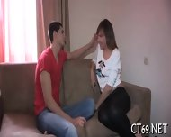 Babe Gets Covered With Cum - scene 7