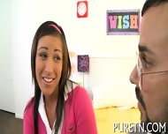 Sampling Babe's Hot Tits And Twat - scene 1