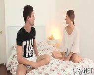 Oral Sex With A Hot Babe - scene 6