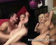 Pair Of Sexy Sluts Take Cocks Deep - scene 8