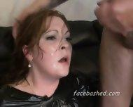 Slapping And Choking Of Teen Slut - scene 3