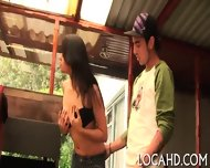 Chick Sweats From Rough Banging - scene 3