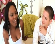 Nasty Cock Riding For Ebony - scene 2