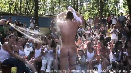 Naked Wet T Contest - scene 3