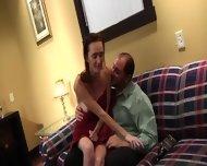 Kinky Daddy Fucks Alluring Girl - scene 3