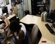 Black Boyfriend Pawns Her Gfs Twat At The Pawnshop - scene 8
