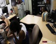 Black Boyfriend Pawns Her Gfs Twat At The Pawnshop - scene 8