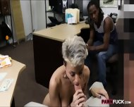 Black Boyfriend Pawns Her Gfs Twat At The Pawnshop - scene 9