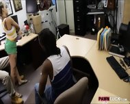 Black Boyfriend Pawns Her Gfs Twat At The Pawnshop - scene 7