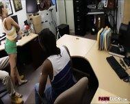 Black Boyfriend Pawns Her Gfs Twat At The Pawnshop - scene 7