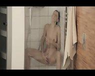 Reaching Orgasm In The Glamorous Shower - scene 8