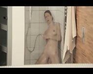 Reaching Orgasm In The Glamorous Shower - scene 10