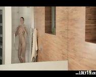 Reaching Orgasm In The Glamorous Shower - scene 2