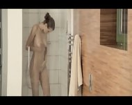 Reaching Orgasm In The Glamorous Shower - scene 3