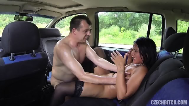 Fucking A Whore In The Car