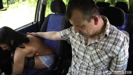 Fucking A Whore In The Car - scene 12