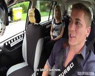 Slutty Passenger Banged In Taxi - scene 1