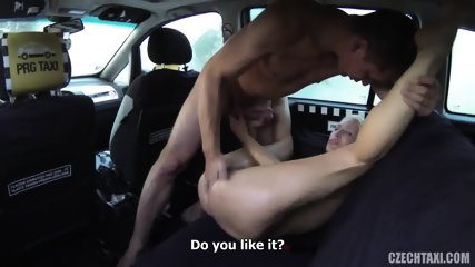 Slutty Passenger Banged In Taxi - scene 12