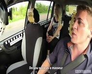 Slutty Passenger Banged In Taxi - scene 3