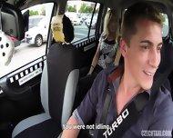 Slutty Passenger Banged In Taxi - scene 5